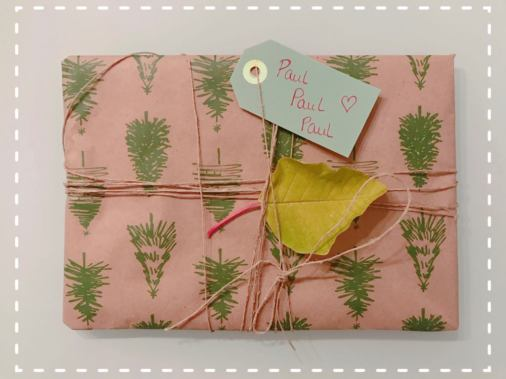 Ecological wrapping paper